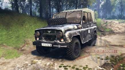 UAZ-469 v3.0 for Spin Tires