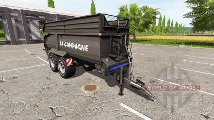 Krampe Bandit 750 black for Farming Simulator 2017