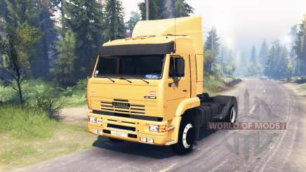 KamAZ 5460 4x4 for Spin Tires