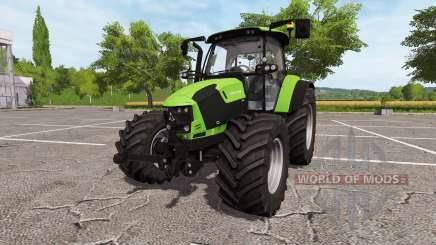 Deutz-Fahr 5110 TTV v2.0 for Farming Simulator 2017