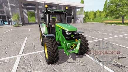 John Deere 6155M v1.0.6 for Farming Simulator 2017