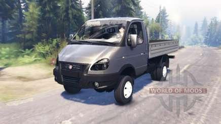 GAZ-33027 GAZelle-Business for Spin Tires