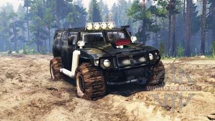 GAZ-2330 Tigr v0.3 for Spin Tires