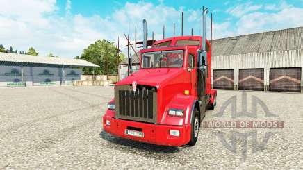 Kenworth T800 v2.0 for Euro Truck Simulator 2