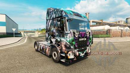 Skin DC Villains on the truck Iveco for Euro Truck Simulator 2