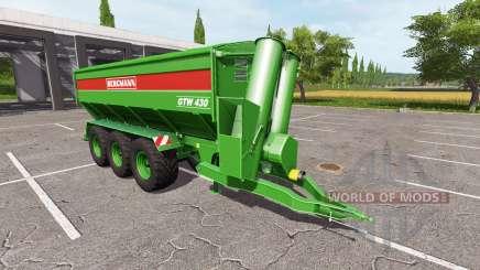 BERGMANN GTW 430 multifruit v1.1 for Farming Simulator 2017