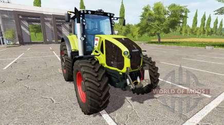 CLAAS Axion 950 v2.0 for Farming Simulator 2017