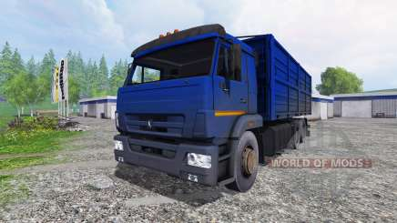 KamAZ 65117 for Farming Simulator 2015