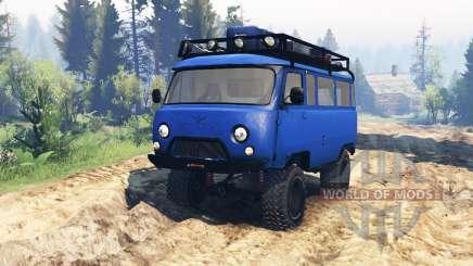 UAZ 3909 v1.1 for Spin Tires