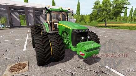 John Deere 8320 v2.0 for Farming Simulator 2017