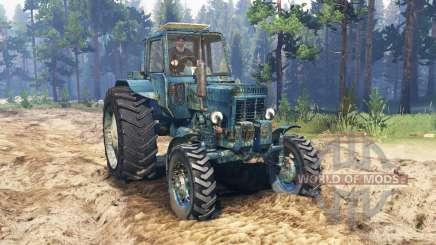 MTZ-80L Belarus for Spin Tires