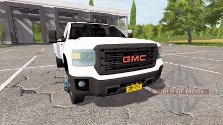 GMC Sierra 3500HD dually for Farming Simulator 2017