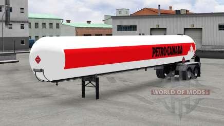 The semitrailer-tank v1.5 for American Truck Simulator