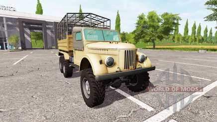 GAZ-69 animals for Farming Simulator 2017