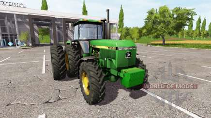 John Deere 4955 v2.0 for Farming Simulator 2017
