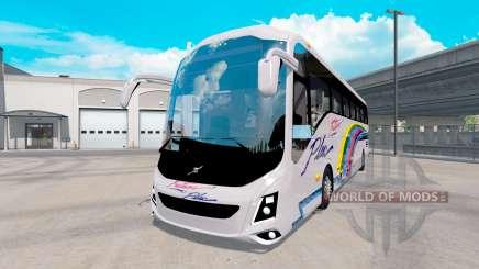 Volvo 9800 for American Truck Simulator