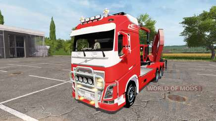 Volvo FH crusher for Farming Simulator 2017