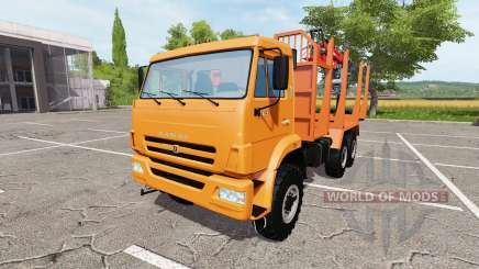 KAMAZ-43118 timber for Farming Simulator 2017