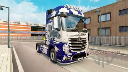 Skin Biomechaniks for tractor Mercedes-Benz for Euro Truck Simulator 2
