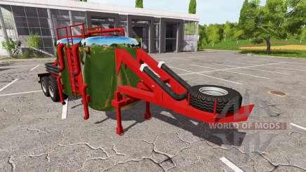 The trailer for Farming Simulator 2017