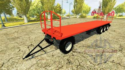 Self-supporting trailer for Farming Simulator 2013