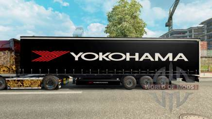 Skin Yokohama for semi-trailer for Euro Truck Simulator 2