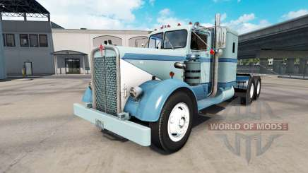 Skin Classic paint on the truck Kenworth 521 for American Truck Simulator