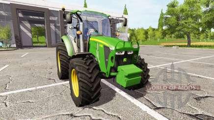 John Deere 5105M v3.0 for Farming Simulator 2017