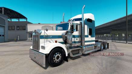 Skin Carlyle on the truck Kenworth W900 for American Truck Simulator