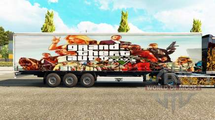 Skin GTA V trailer for Euro Truck Simulator 2