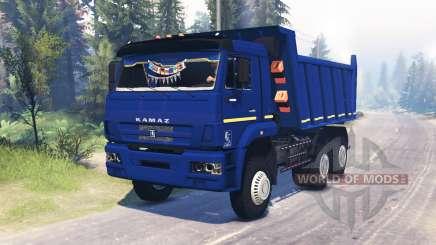 KamAZ 6522 v0.1 for Spin Tires