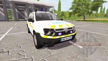 Dacia Duster SAMU for Farming Simulator 2017
