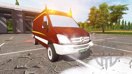Mercedes-Benz Sprinter 2010 v1.2 for Farming Simulator 2017
