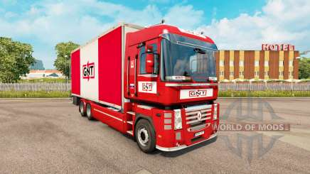 Skin GNT for tractor Renault Magnum tandem for Euro Truck Simulator 2