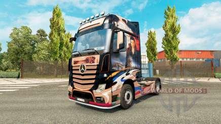 Skin Revaniko for tractor Mercedes-Benz for Euro Truck Simulator 2