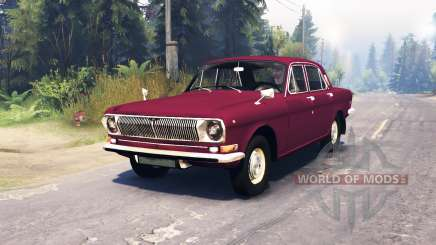 GAZ-24 Volga for Spin Tires