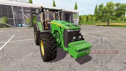 John Deere 8430 v2.2 for Farming Simulator 2017