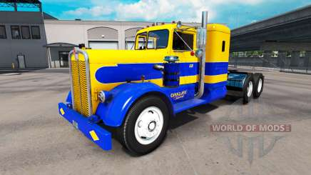 Skin Oakley on tractor Kenworth 521 for American Truck Simulator
