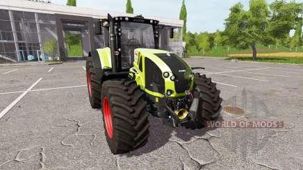 CLAAS Axion 940 v1.0.1 for Farming Simulator 2017