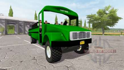 Freightliner Party Bus for Farming Simulator 2017