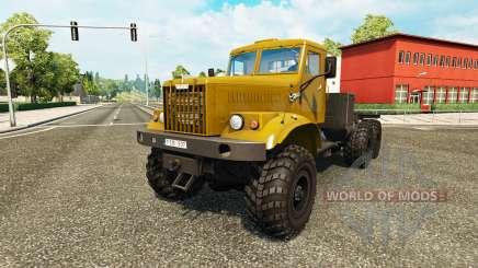 KrAZ-255 for Euro Truck Simulator 2