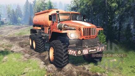 Ural 4320 Polar Explorer v17.0 for Spin Tires