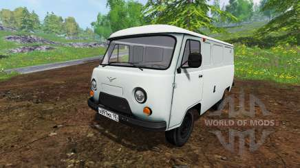 UAZ-3741 for Farming Simulator 2015