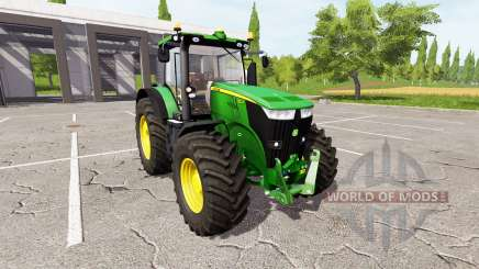 John Deere 7270R v2.0 for Farming Simulator 2017