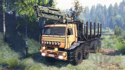 KamAZ Polar v6.0 for Spin Tires