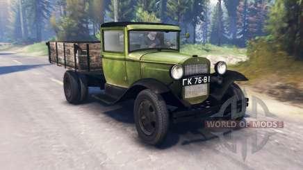 GAZ-MM 1940 v2.0 for Spin Tires