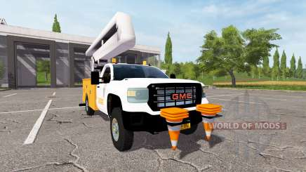 GMC Sierra 3500HD bucket for Farming Simulator 2017