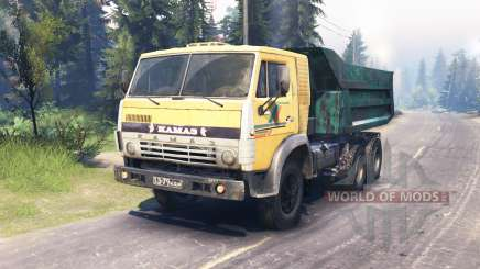 KamAZ 5511 for Spin Tires