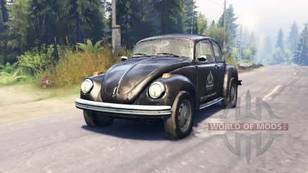 Volkswagen Beetle Custom v2.0 for Spin Tires