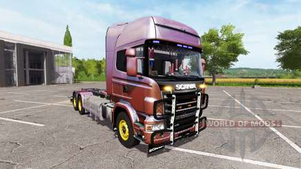 Scania R730 hooklift v1.0.1.0 for Farming Simulator 2017